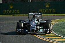 Formel 1 - 3. Training: Rosberg führt das Feld an