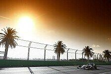 Formel 1 - Wetterprognose für den Australien GP