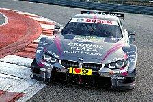 DTM - BMW verbucht auch an Tag 3 die Bestzeit