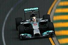 Formel 1 - Qualifying: Hamilton auf Pole, Vettel nur auf 12