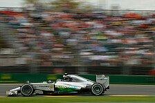 Formel 1 - Rosberg: Ausrutscher kostet die Pole