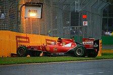Formel 1 - Räikkönen: Verkehr schlimmer als Crash