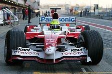 Formel 1 - Toyota: Standfestigkeit wichtiger als die Performance!