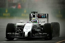 Formel 1 - Beide Williams in Q3: Regen zerstört große Party