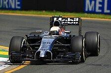 Formel 1 - Topspeeds in Melbourne: Magnussen voran