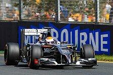 Formel 1 - Adrian Sutil: Es kann nur besser werden
