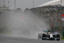 Formel 1 - Regenreifen und Intermediates auf gleichem Niveau