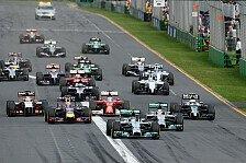 Formel 1 - Übersicht: Formel-1-Rennkalender 2016
