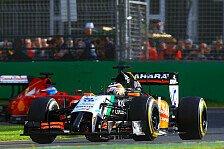 Formel 1 - Hülkenberg an der Box ausgebremst