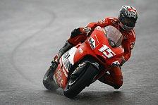 MotoGP - Warm Up MotoGP: Feuchte Strecke aber kein Regen