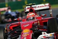 Formel 1 - Räikkönen dementiert Brems-Probleme