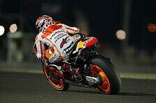 MotoGP - Marquez fährt zur Pole in Katar