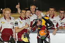 Moto2 - Die Stimmen vom Podium in Katar