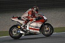 MotoGP - Dovizioso beim Auftakt in Katar
