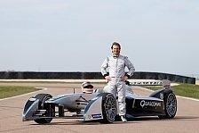Formel E - Video: Trulli testet den Formel-E-Renner