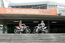 NIGHT of the JUMPs - Rebeaud, Bizouard und Podmol starten in Basel
