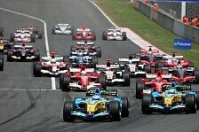 Formel 1 - Spanien GP: Alonso verhindert den roten Hattrick