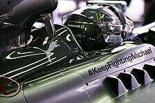 Mercedes kündigt neue Schumacher-Projekte an
