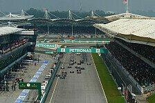 Malaysia GP ab 2018 nicht mehr im F1-Kalender