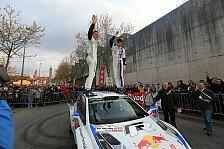 WRC - Bilder: Sebastien Ogier beim Fafe Rally Sprint