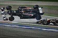 Formel 1 - Bilder: Pastor Maldonados Unfälle