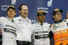 Formel 1 - Bilder: Bahrain GP - Podium