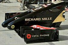 Formel 1 - Lotus mit neuer Nase in Austin