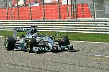 Formel 1 - Bahrain-Test III: Mercedes gibt den Ton an