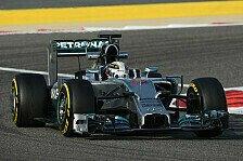 Formel 1 - Bahrain-Test III: Hamilton mit Bestzeit
