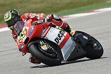 MotoGP - Ducati-Piloten vor Rennen kämpferisch