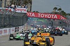 Formel E - Formel E fährt in Long Beach