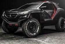 Dakar - Peugeot vor Rallye Dakar mit überarbeitetem Auto