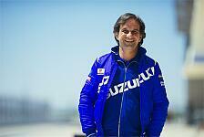 MotoGP - Suzuki: Erstes Regenrennen gut absolviert
