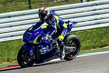 MotoGP - De Puniet bei Suzuki-Test verletzt