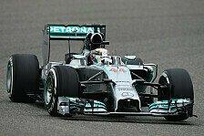 Formel 1 - 2. Freies Training: Mercedes schlägt zurück