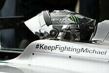 Formel 1 - Kehm dementiert erneute Schumacher-Gerüchte