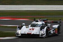 WEC - 2. Training: Audi lässt Muskeln spielen