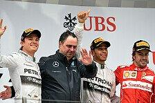 Formel 1 - China GP: Hamilton feiert ersten Hattrick