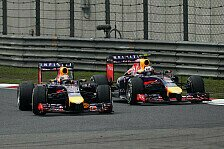 Formel 1 - Saisonbilanz 2014: Red Bull