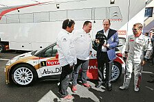 WRC - Loebs Citroen DS3 WRC kommt ins Museum