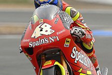 MotoGP - 1. Training 250cc: Locatelli vorn, Aschenbrenner hinten