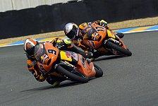 MotoGP - Warm-Up 125cc: Lüthi und Cortese in den Top Ten
