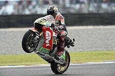 MotoGP - Entwarnung bei Bradl nach Quali-Crash