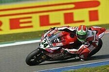 Superbike - Giugliano holt ersten Podiumsplatz für Ducati