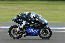 Moto3 - Fenati rast von Startplatz 13 zum Sieg