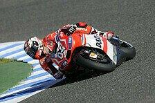 MotoGP - Dovizioso auf harten Reifen chancenlos