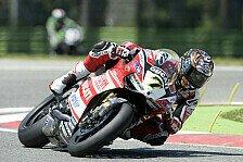 Superbike - Ducati-Fahrer glücklich nach Superpole