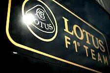 Formel 1 - Lotus dementiert Testabsage