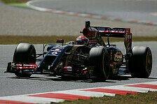 Formel 1 - Spanien-Test, Tag 2: Maldonado markiert Bestzeit