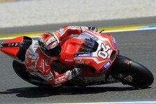MotoGP - Dovizioso-Comeback in Reihe eins